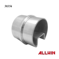 Glass Railing Inline Slot Tube Connector 2 way