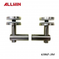 Stainless Steel Double Arm Fixed Fitting Glass Clamp