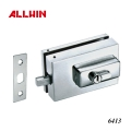 Cylinder Glass Clamp Glass Door Lock Patch Fitting
