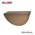 ALLWIN Electroplating Finish Color Sample Brown Bronze