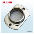 Stainless Steel Middle-High Neck Oblong Base 2 Hole Flange