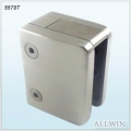 Square Tube Stainless Steel Security Plate Square Glass Clamp