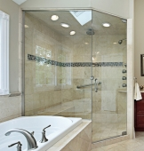 Glass Frameless Shower Doors & Hardware