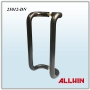 Aluminum Back to Back Solid Bar Push Pull Handle
