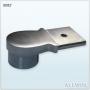 Stainless Steel Wall Mounted Adjustable Handrail Saddle Railing Bracket