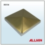 Stainless Steel Square Post Cap Post Over Pillar Cover Plate