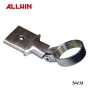 Stainless Steel Handrail Fitting Bar Foot Railing Adjustable Bar Bracket