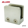 Stainless Steel Flat Base Security plate Glass Clamp