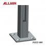 Stainless Steel Glass Panel Single Slot Railing Handrail Square Post
