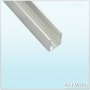 Anodized Aluminum Single Channel Extrusion U Channel