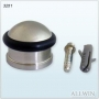 Diecast Construction Wall Mounted Convex Type Cylinder Door Stop