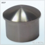 Stainless Steel Stair Railing Post Decorative Round Dome End Cap