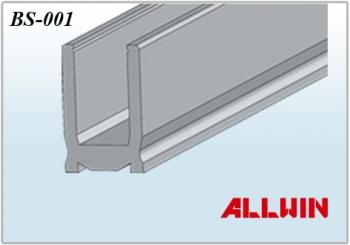 Aluminum Low Profile Square Base Shoe