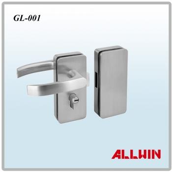 Glass Mounted Passage Glass Door Locks Glass Locks
