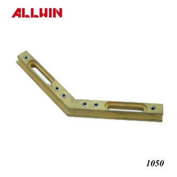 Brass Adapter Block For Header Pivot Hinge