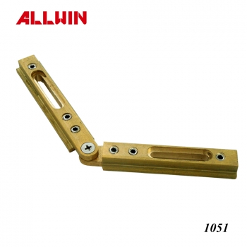 Brass Adjustable Header Corner Clamp