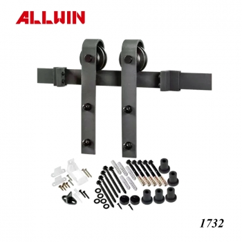 Matte Black Barn Door Roller kits