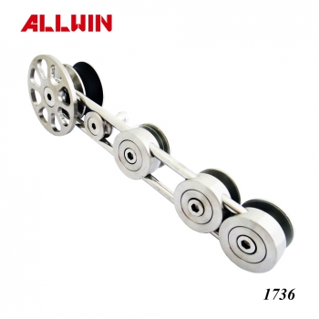 New Design Stainless steel Sliding Door System Roller