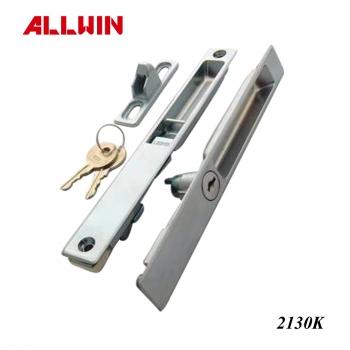 Zinc Alloy Screen Door Flush Mount Pull Handle Latch