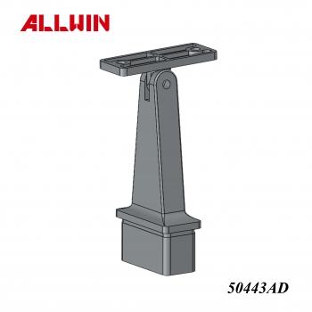 Stainless Steel Rectangular Handrail Saddle Bracket