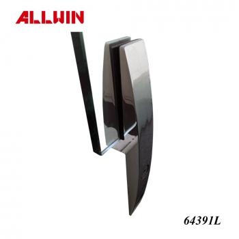 Duplex Stainless Steel Frameless Windscreen Clamps Core Mount Glass Spigot Glass Bracket