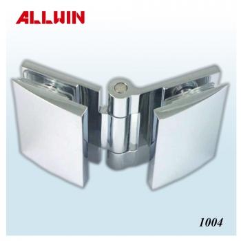 Solid Brass Wall Mount Short Back Plate Shower Hinge