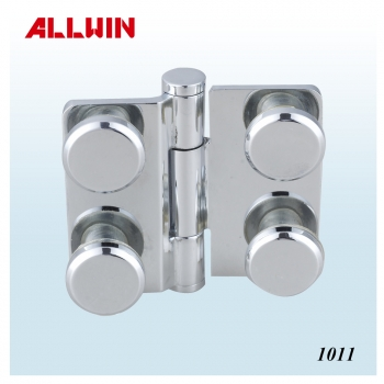 Wall Mounted Short Back Plate Heavy Duty Shower Hinge With Three Screw design