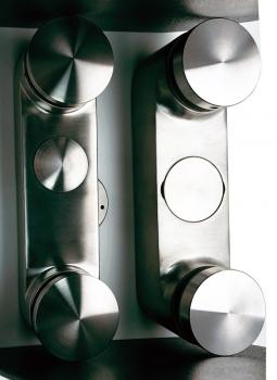 "1.5"" 38.1 Glass Railing Heavy Duty Glass Standoff"