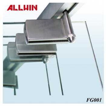 Stainless steel Frameless Folding Glass Door System