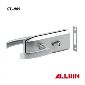 Double Side Lever Handle Glass Door Lock