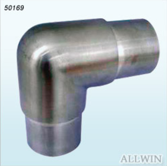 Stainless Steel Square Tube Adjustable Connector Product-R-4-3-3-50322