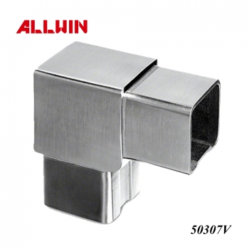 Stainless Steel Glass Railing 90 degree Connector Elbow