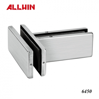 Over Panel Side Panel Pivot Glass door Aluminum Patch Fitting