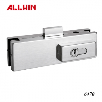 Glass Door Top Aluminum Patch Fitting