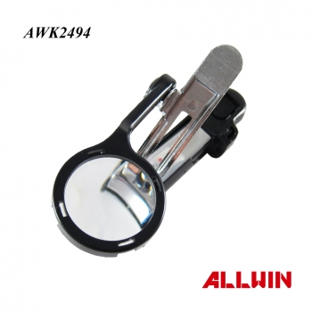 Promotion Gift For Elder Safety Nail Clipper With Magnifying Glass Nail Clipper