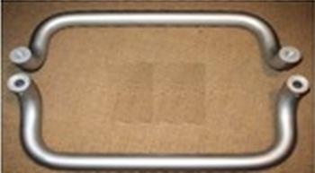 Solid Aluminum Push Pull Door Handle