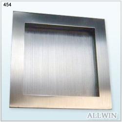 Stainless Steel Furniture Cupboard Pocket Sliding Door Handle