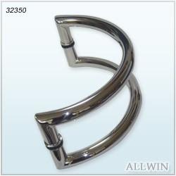 Stainless Steel Push Pull Glass Door Handle