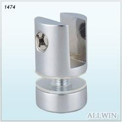 Brass Glass Clamp Shower Door connector Shelf Clamp