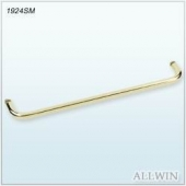 Single Mounted Brass Towel Bar