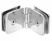 Solid Brass Glass Clamp hinge