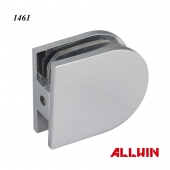 Wall Mounted D Shape Shower Door Glass Clamp