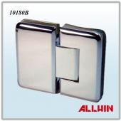 180 Degree Round Corner And Bevel Edge Brass Glass Door Hinge