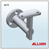 Radius Saddle Wall Mounted L Shape Adjustable Handrail Bracket
