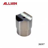 Stainless Steel Round Post system Handrail Perpendicular Collar