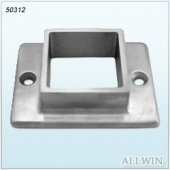 Stainless Steel Two Holes Square Full Flange
