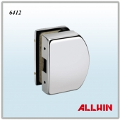 Glass mounted Patch Fitting Lock Keeper