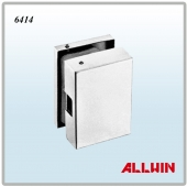 Glass Clamp Glass Door Lock keeper Patch Fitting