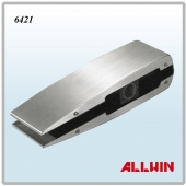 Stainless Steel Glass Clamp Curved Patch Fitting