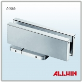 Patch Fitting Hydraulic Clamp Floor Spring Door Closer